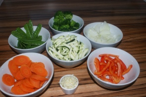 Gemüse (geschnitten)