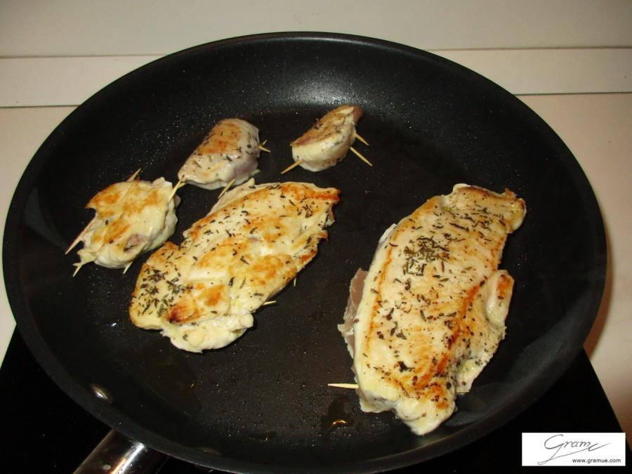 pollo farcito - C