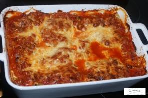 Lasagne frisch aus dem Backroh