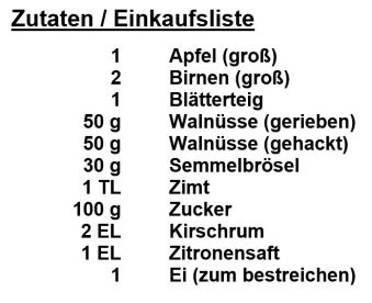 Zutaten_Apfel-Birnen-Strudel