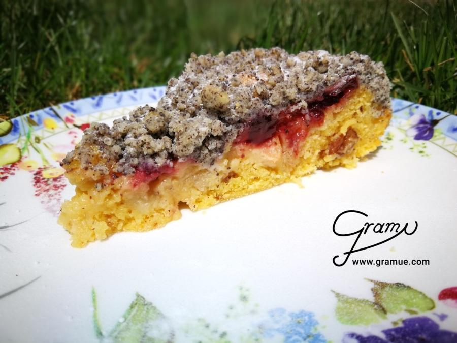 Birnen-Mohn - Kuchen_D