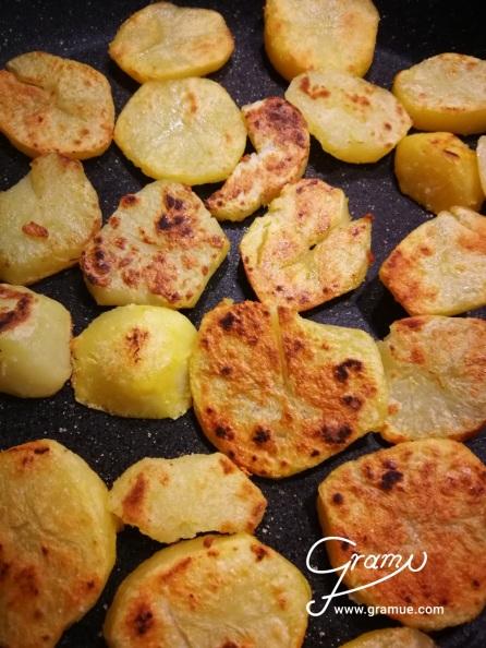 Kartoffel Portionsweise anbraten