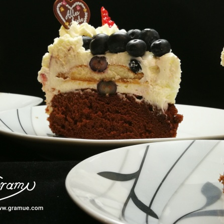 Früchte Tiramisu Torte