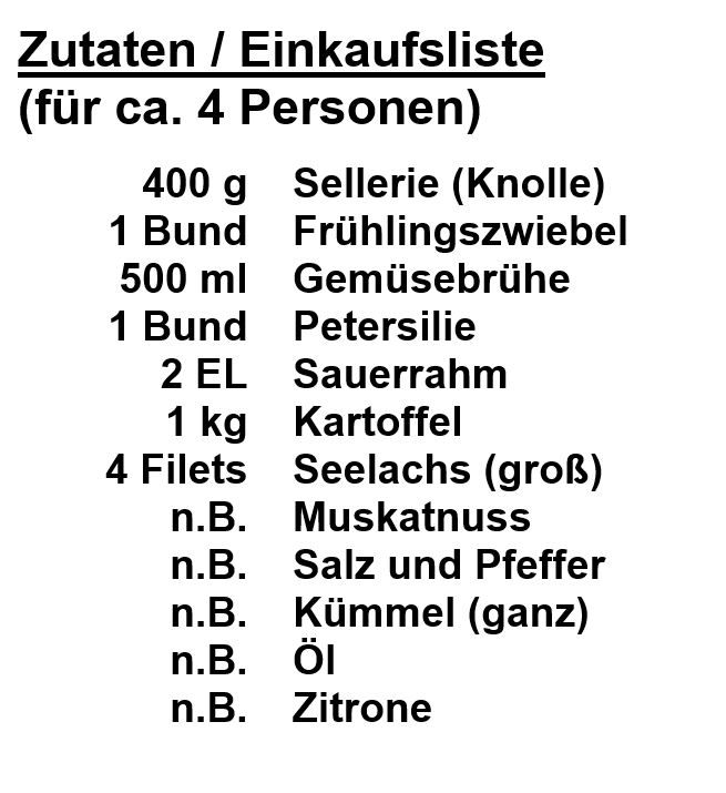 Zutaten_Seelachs-Selleriepüree