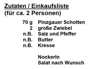 Zutaten-Schottnockn
